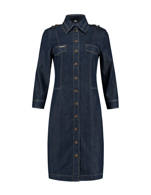 Dress Marina Washed Blue Denim