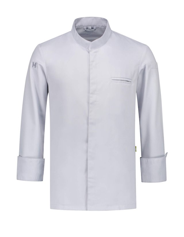 Chef Jacket Alain Pearl Grey