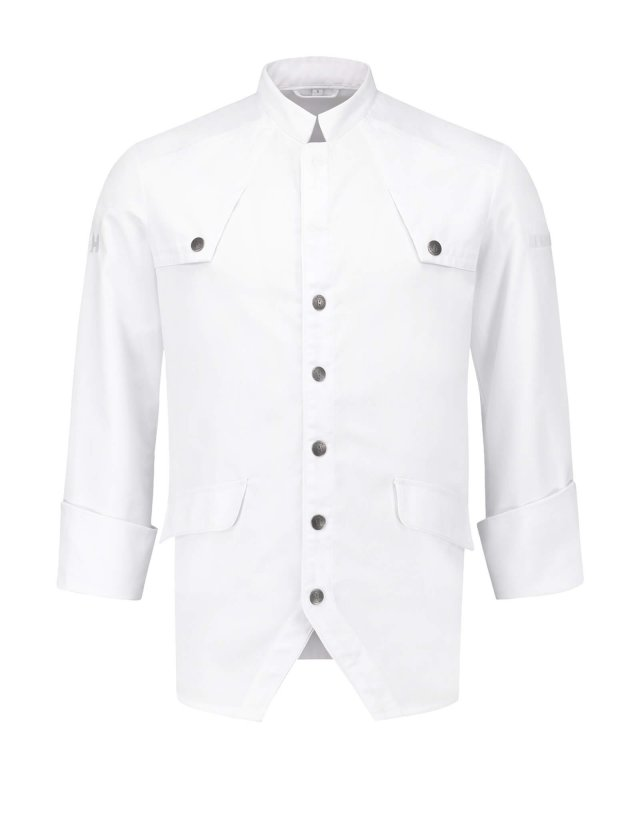 Chef Jacket Morgan White