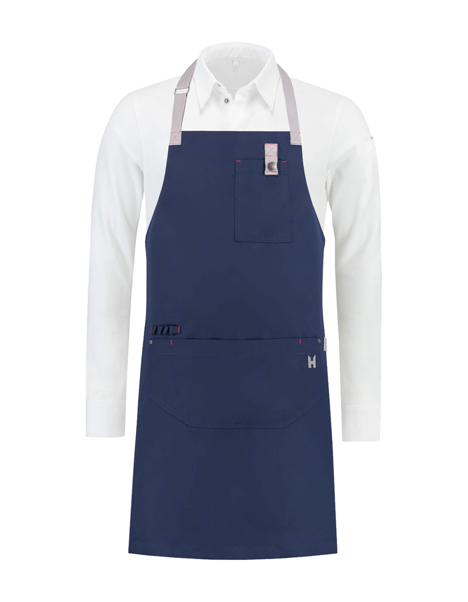 Bib Apron Seattle Navy