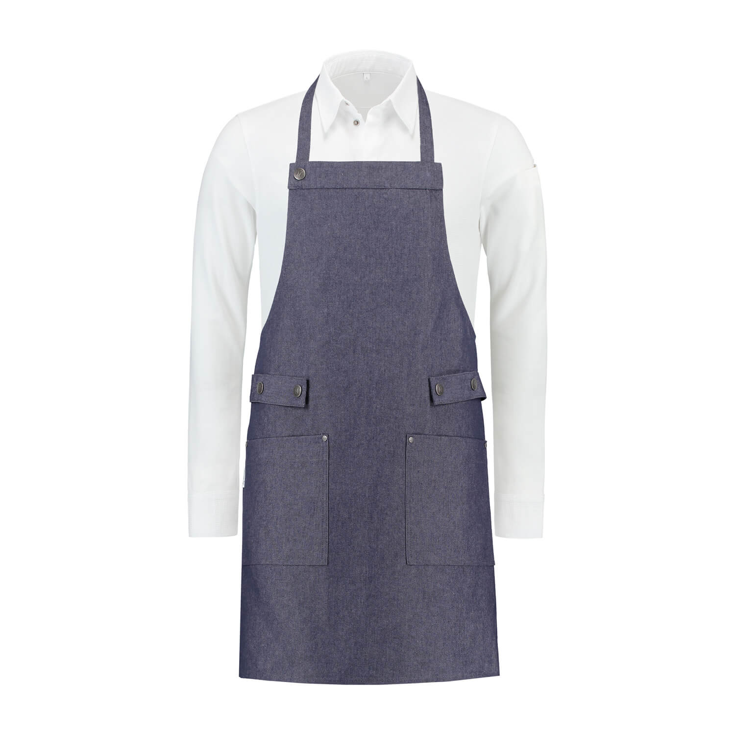 Bib Apron blue denim Dakota