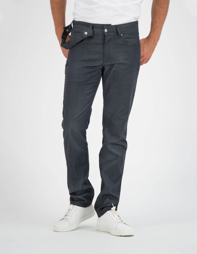 Pants Chicago Black Denim