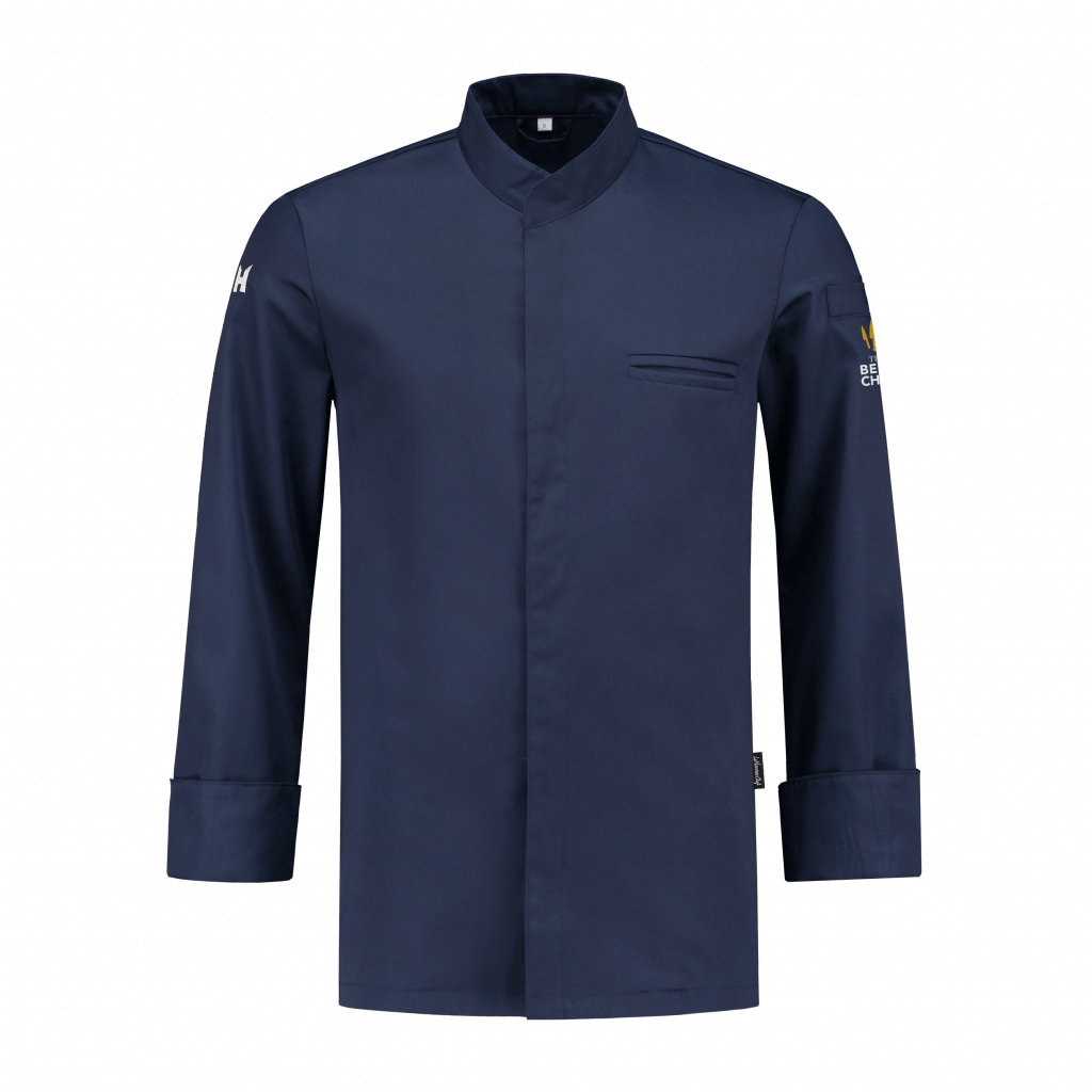 Chef Jacket The Best Chef Alain Patriot Blue